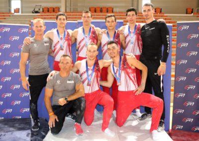 L'équipe de L'Étoile de Monaco au Top 12
